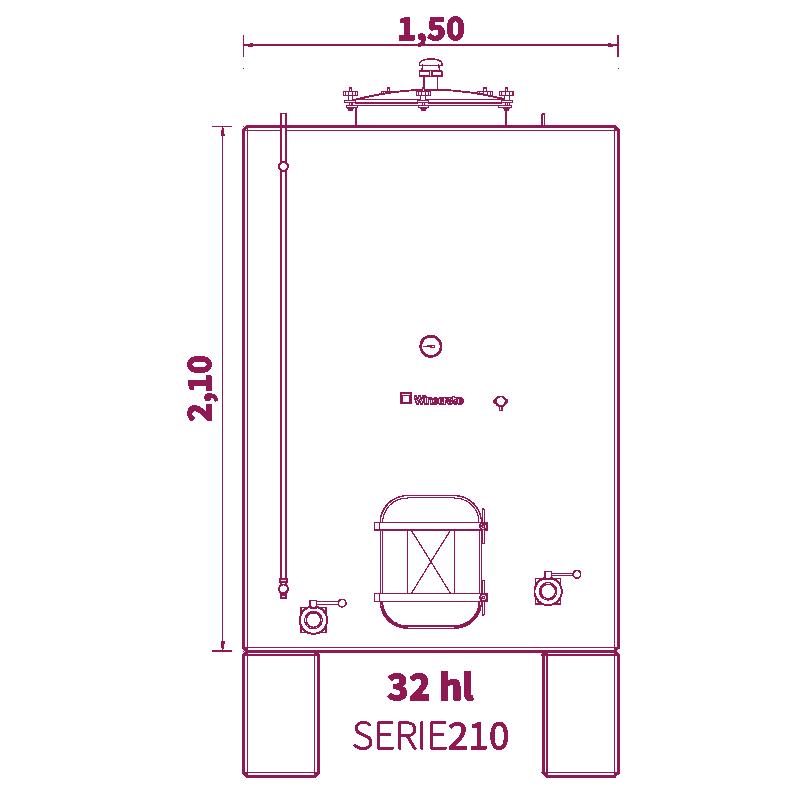 Depósito 32hl