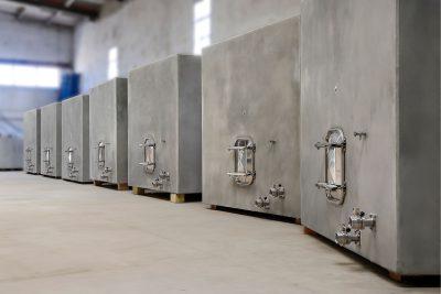 Depósitos de hormigón para vino