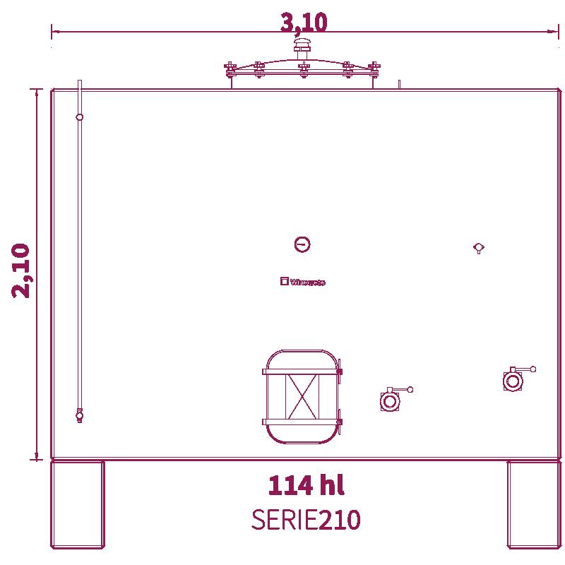 Depósito 113hl
