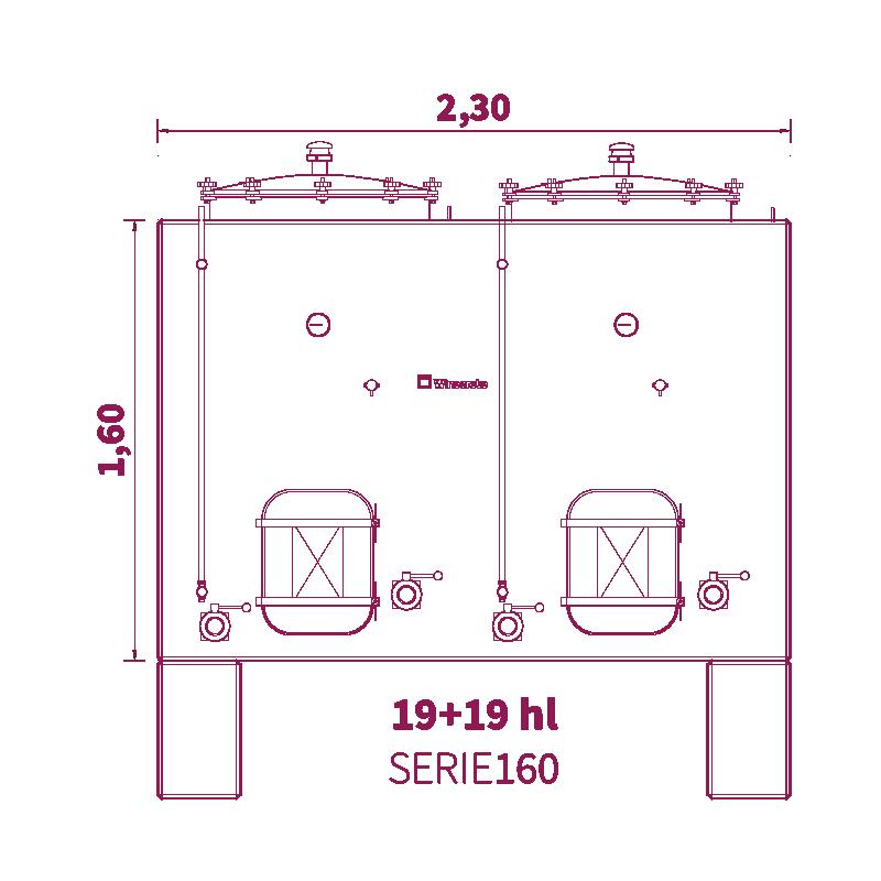 Depósito 38hl