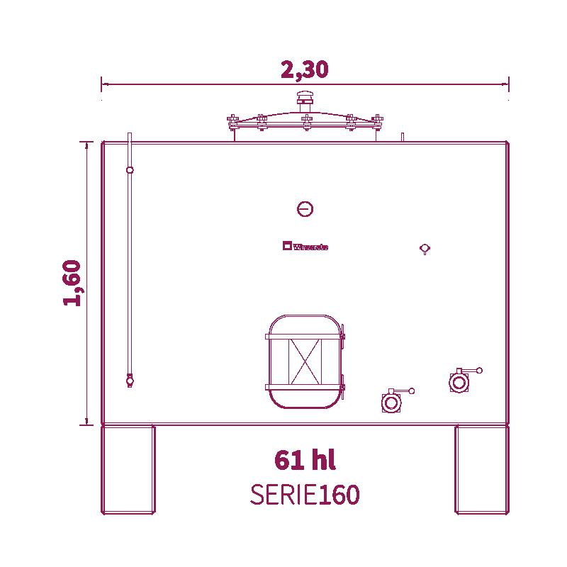 Depósito 60hl