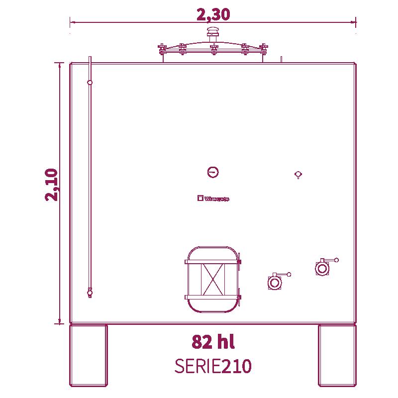 Depósito 82hl